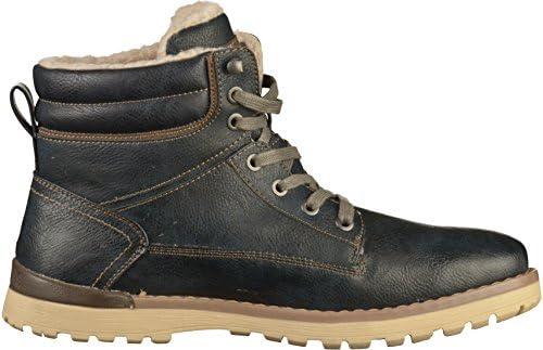 MUSTANG Shoes Boots in Übergrößen Navy 4092 609 820 große Herrenschuhe