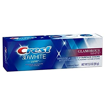dentifrice crest 3d white luxe