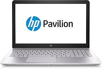 """HP Pavilion 15-CD001DS 15.6"""" HD Touchscreen Notebook, AMD A6-9220 Dual-Core 2.5GHz, 4GB DDR4, 1TB SATA HDD, 802.11ac, Backlit Keyboard, Bluetooth, Win10Home - Silver"""