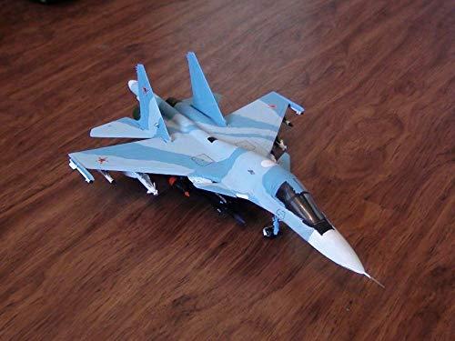 ZVEZDA 7250 Avión Cazabombardero y Ataque Ruso Sukhoi SU ...