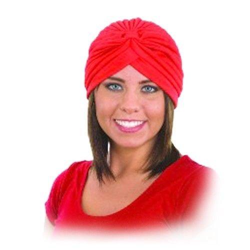 Adult Snake Charmer Costumes (Princess Black Red White Hat Turban Swami Genie Snake Charmer Costume)