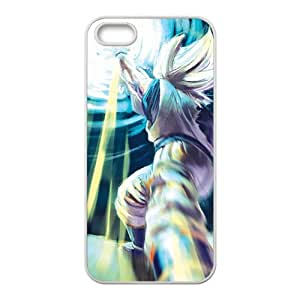 Hero Fight Cartoon Anime White iPhone 5S case