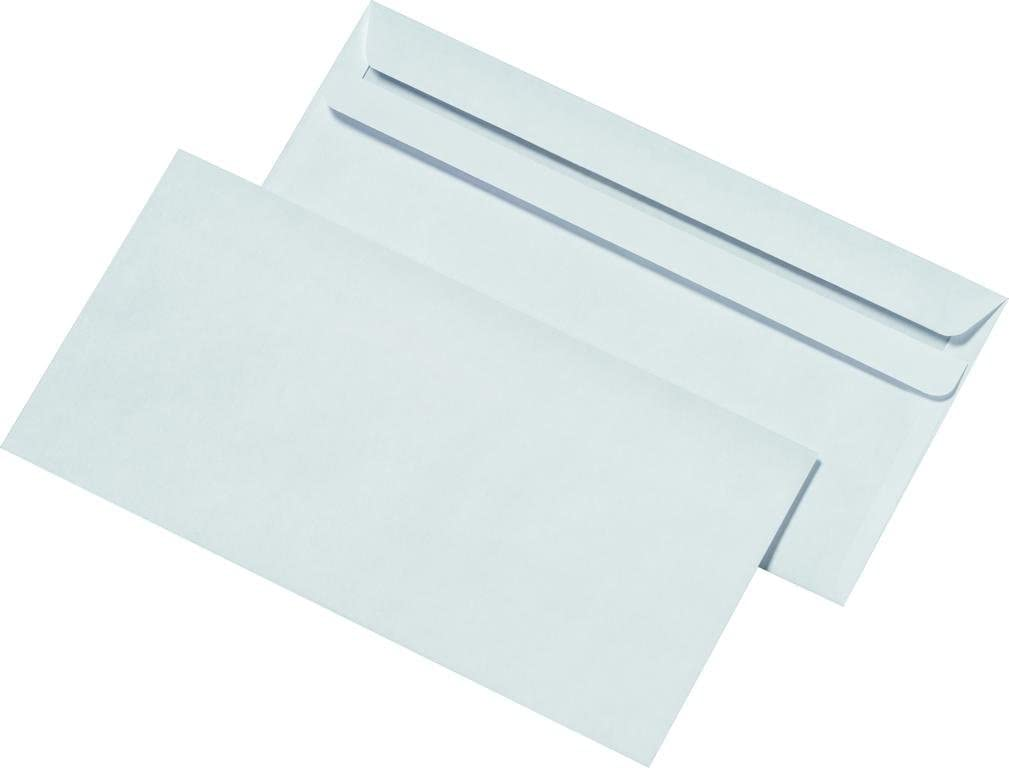 100/Mail Media/® Enveloppes DIN Long Blanc