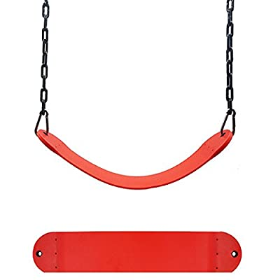 EDTara Swing Seat for Kindergarten Kids Heavy Duty 300KG/661LB Weight Limit Outdoor Playground Swing Accessories 5.595.51Inch: Sports & Outdoors