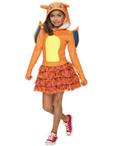 Rubie's Costume Pokemon Charizard Child Hooded Costume Dress Costume, -