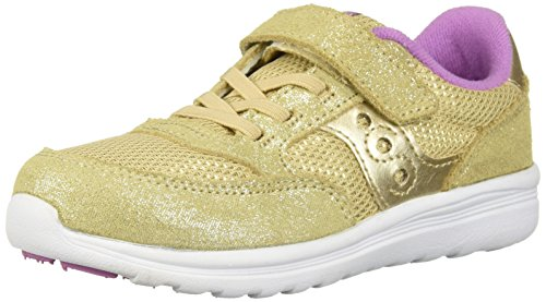 - Saucony Girls' Baby Jazz Lite Sneaker, Gold Sparkle, 6.5 Medium US Toddler