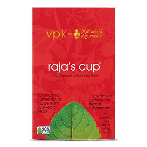Kapha Tea (Raja's Cup Ayurvedic Coffee Substitute, 1.68 oz (48 g))