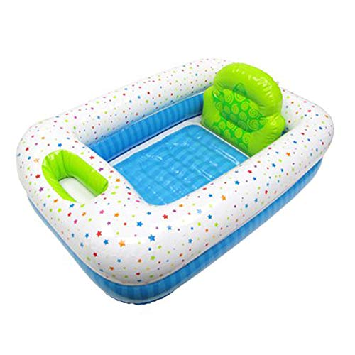 Parents Choice Inflatable Safety Bathtub for Home or Travel]()