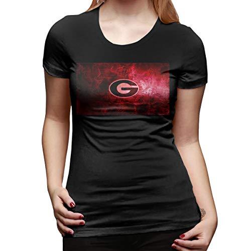 - Aergaerg387 Georgia-Bulldogs Women T-Shirt Black L