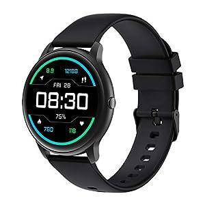 スマートウォッチ YAMAY 丸型 レディース メンズ 腕時計 活動量計 万歩計 心拍計 iphone Android対応