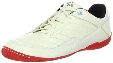 Pelé Sports Men's Radium Organised Team Soccer Shoe,Gold Pearl/Black/Fierey Red,7 M US