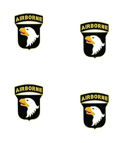 MilitaryBest 101st Airborne Lapel Pin 4 Pack