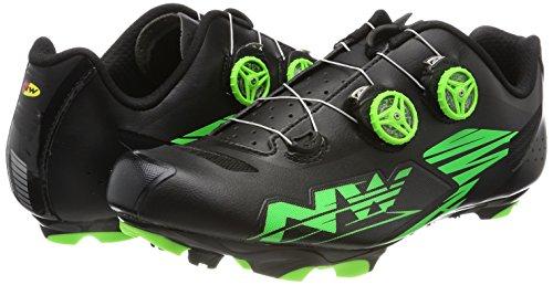 Northwave Hombre Blaze Plus bicicleta guantes negro / verde