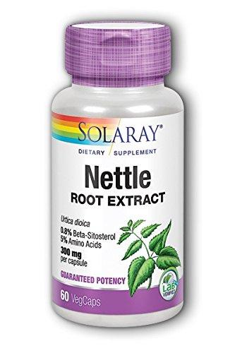 - Nettle Root Extract Solaray 60 VCaps