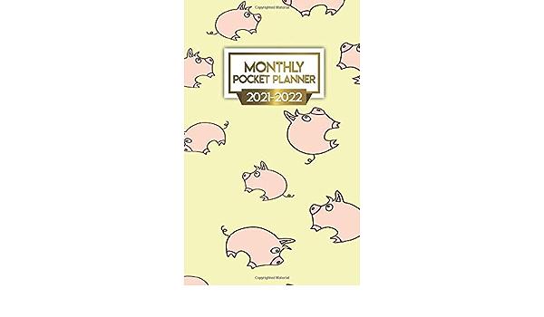 2021 2022 Planner: Adorable Monthly Agenda, Diary, Calendar