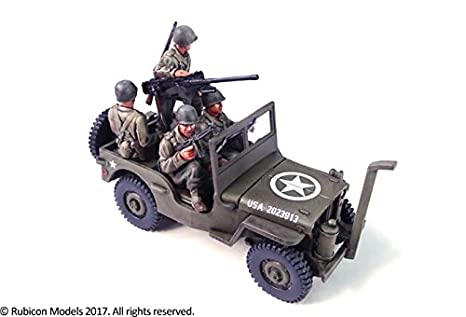 Amazon.com: Willys MB 1/4 Ton 4 x 4 Truck (US Standard ...