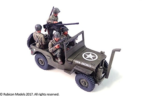(Willys MB 1/4 ton 4x4 Truck (US Standard) (1:56th scale / 28mm))