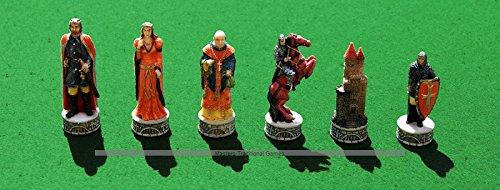 通販 Italfama Robin Hood Hand-Painted B07BL512WT Chess Pieces - Hood Resin, Hand-Painted B07BL512WT, インポートランジェリーflavor:5a14a183 --- nicolasalvioli.com
