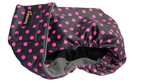 Pañal para perro, sin agujero en la parte trasera, ideal para Bulldog francés, con compresas de recambio, reutilizables: Amazon.es: Productos para mascotas