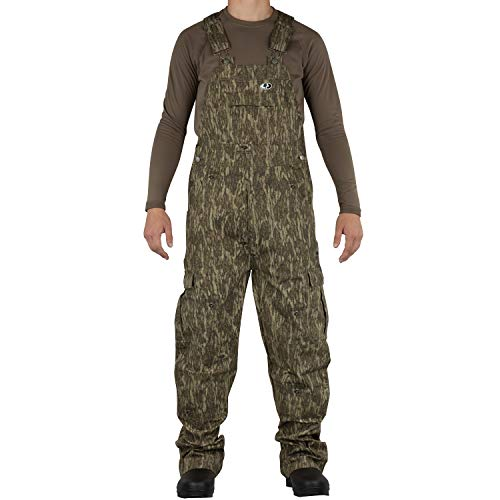 Mossy Oak Mo Cotton Mill 2.0 Hunt Bib, Bottomland, Large