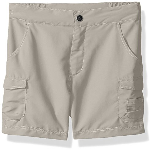 White Sierra Girls Crystal Cove River Shorts, Pale Taupe, Small