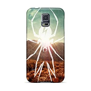 High Quality Hard Cell-phone Cases For Samsung Galaxy S5 (WNK1291fcRY) Custom Nice My Chemical Romance Band Pattern