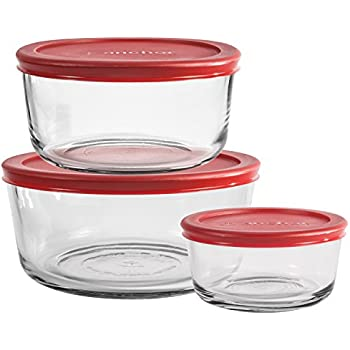 Amazon Com Anchor Hocking Replacement Lid For 4 Cup Round
