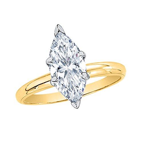 0.53 Ct Marquise Diamond - 1
