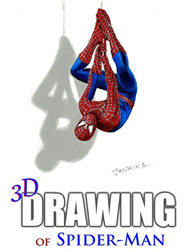 Clip: 3D Drawing of Spider-Man ()