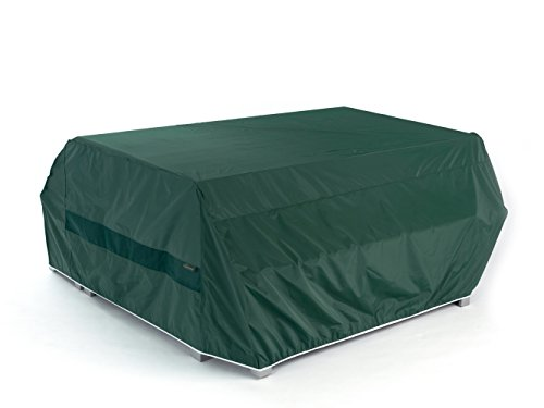 CoverMates – Picnic Table Cover – 76W x 62D x 32H – Classic Collection – 2 YR Warranty – Year Around Protection - Green