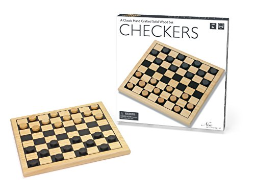 Intex Syndicate LTD Wooden Checkers
