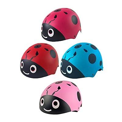 PRETYZOOM Kids Bike Helmet Adjustable Portable Multi-Sport Bicycle Safety Helmet Cycling Skateboard Scooter Skate Inline Skating Rollerblading Protective Gear Helmet : Sports & Outdoors