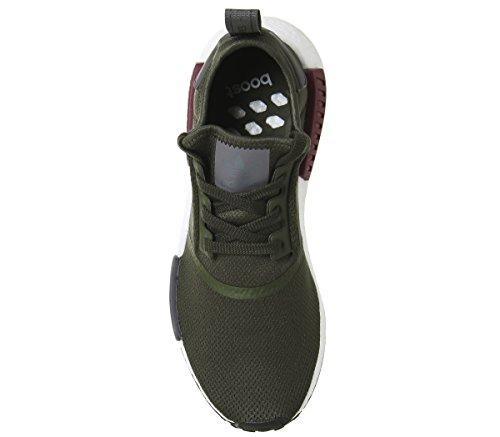 Khaki r1 Mujer Primeknit Maroon Exclusive para Entrenamiento Adidas de NMD Zapatillas Uf8UTqp