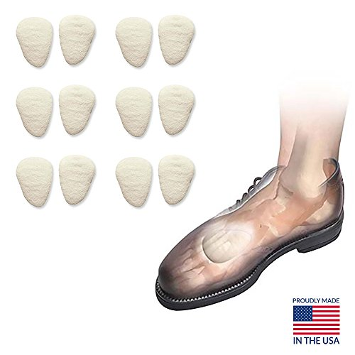 (Metatarsal Foot Pads for Women & Men Hapad Metatarsal Pads Medium, 5/16'' Thick (Pack of 6)