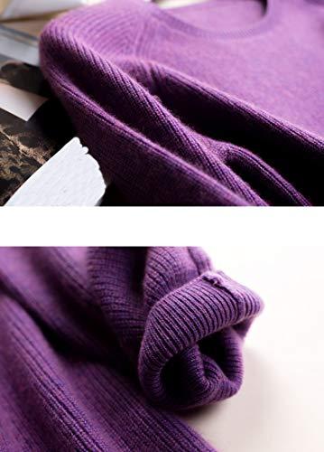 Maglione Manica Donna Violett Lunga Dissa 0fpU4xqw