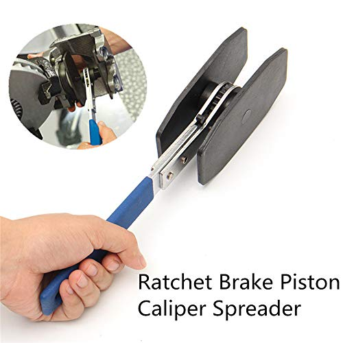 Car Ratchet Brake Piston Caliper Spreader Tool Brake Caliper Press Twin Quad Separator Pad Install Tool by Generic (Image #1)
