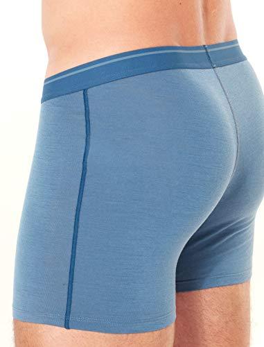 Anatomica Boxers Homme Granite Blue Sous vêtement Icebreaker Blue prussian qfxzCdq