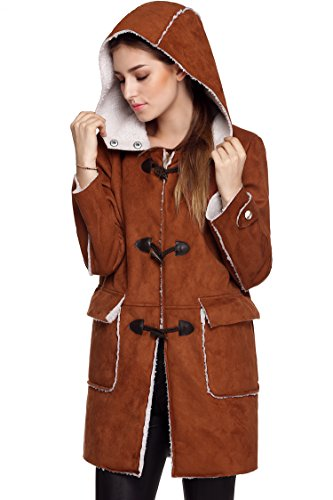 ANGVNS Fashion Button Outerwear Overcoat