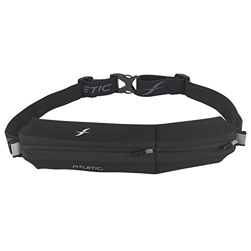 Fitletic Black Running Belt - Neo II Black