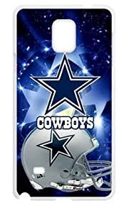 Hoomin Fashion Dallas Cowboys Universe Stars Samsung Galaxy Note4 Cell Phone Cases Cover Popular Gifts(Laster Technology)