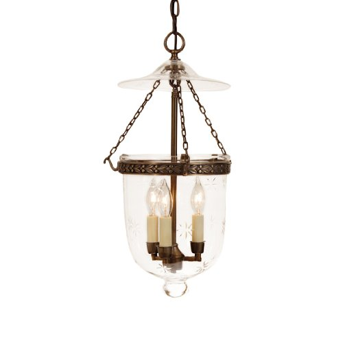 Silver Bell Pendant Light