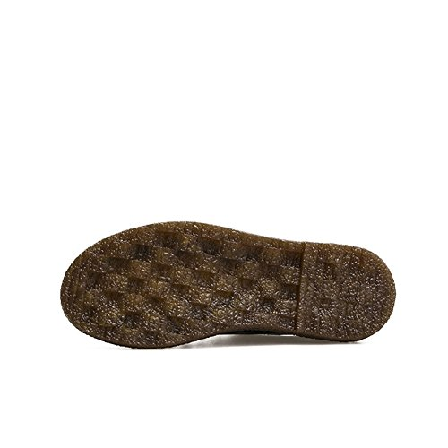 T-july Scarpe Oxfords Da Donna - Moderne Scarpe Stringate Con Lacci In Pelle Scamosciata A Punta Rotonda