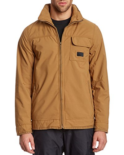 Oakley Stonewall Casual Athletic Water Resistant Jacket In Ermine Brown - Medium