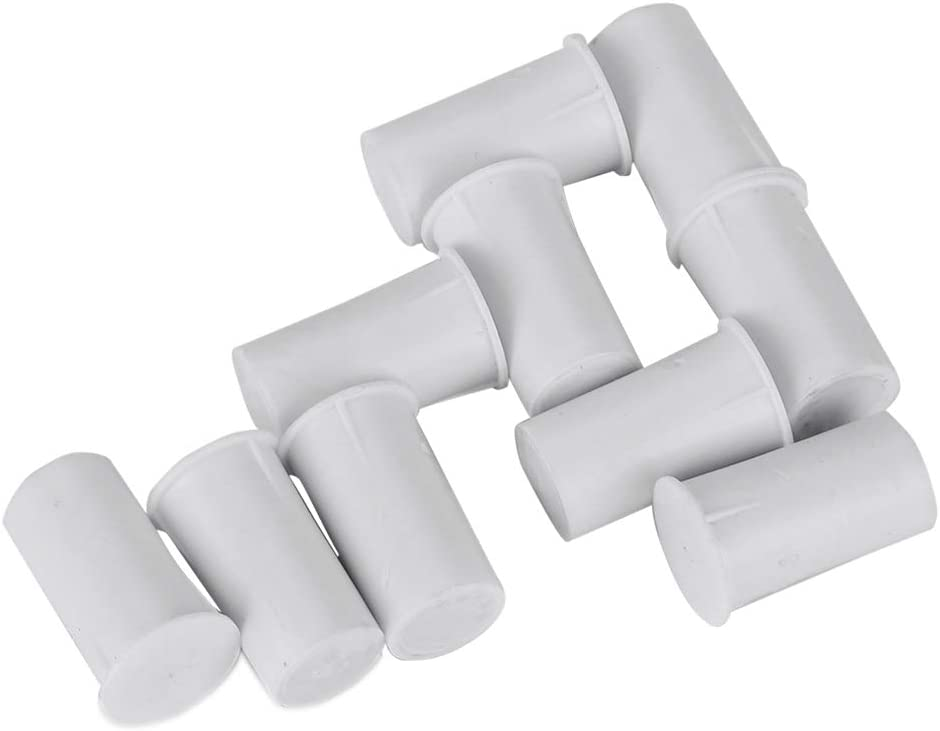 Pack of 10 Wired Door Window Sensor Magnetic Reed Switch NC Recessed for Home Alarm System