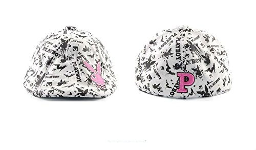 Playboy Classic Old School Ivy Large / X-Large All Over Logo Hat Cap]()