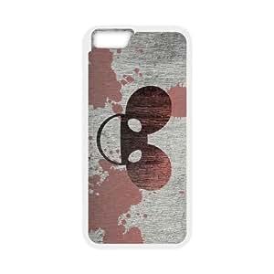 deadmau5 splash iPhone 6 4.7 Inch Cell Phone Case White Custom Made pp7gy_3398942
