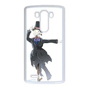 LG G3 phone case Howl's Moving Castle Hard Case White 05