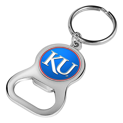 - NCAA Kansas Jayhawk - Key Chain Bottle Opener