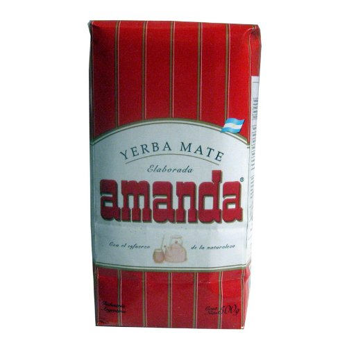 AMANDA YERBA MATEl, 500-Gram Packages (PACK OF 2)