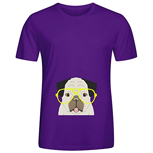 emerson-pug-with-neon-hipster-glasses-cute-mens-crew-neck-short-sleeve-tee
